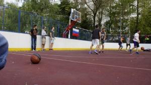 Центр уличного баскетбола Чертаново Центральное