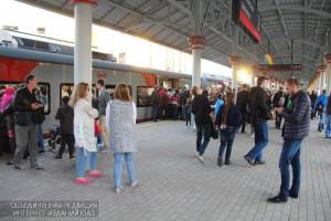 Несколько станций МЦК в ЮАО стали одними из самых популярных станций в первые дни его работы