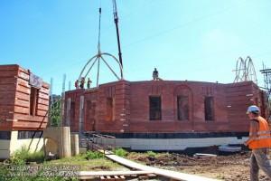 Строительство Храма Живоначальной Троицы