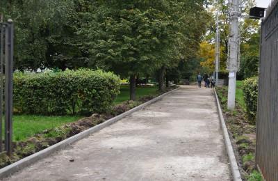 Работы в Парке 30-летия Победы