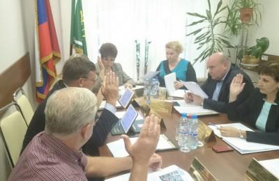 Проект депутаты рассмотрели в рамках рабочей встречи