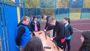 День призывника в районе Чертаново Центральное