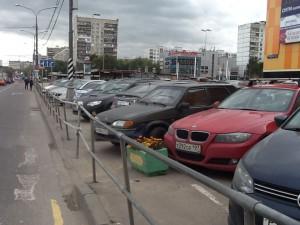 Отремонтированное дорожное ограждение