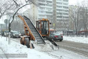 Уборка улиц от снега