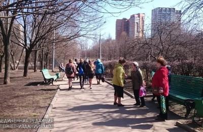 В парке 30-летия Победы продолжат благоустроительные работы