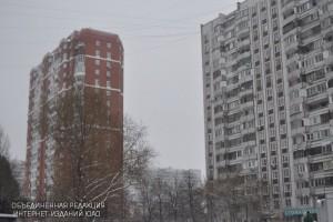 Жилые дома в районе