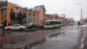 Автобус в районе