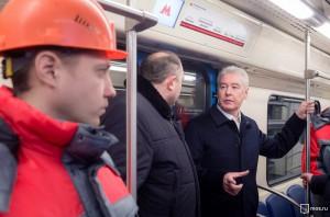 Самые современные поезда «Москва» вышли на линию в московском метро - Сергей Собянин