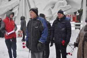 Ветеран Великой Отечественной войны Феликс Григорьевич Афанасьев (в центре)