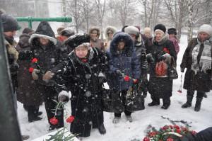 Торжественный митинг в честь 75 годовщины Битвы под Москвой