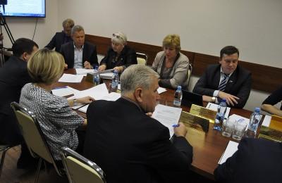 На заседании совета депутатов