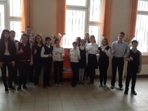Ученики школы №880 приняли участие в акции по сбору батареек