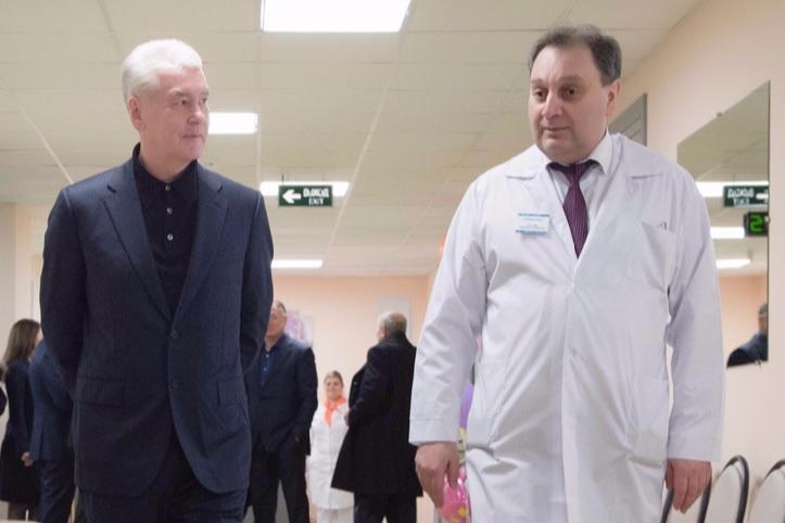 Столичные больницы делают лучше помощь пожилым пациентам— Собянин