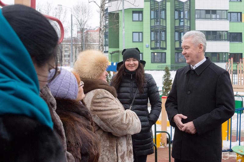 Инвесторы передали столице России большую часть возведенных соцобъектов— Собянин