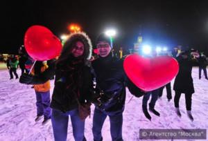 День влюбленных в Москве