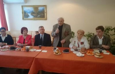 Ветеран Великой Отечественной войны, бывший руководитель Совета Леонид Моисеевич Некрасовский
