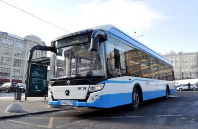 Новый электробус в Москве