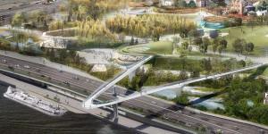 """Проект парка """"Зарядье"""", строящегося в центре Москвы"""