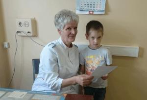 Лучшая медсестра 2015 года, которая работает в поликлинике №129