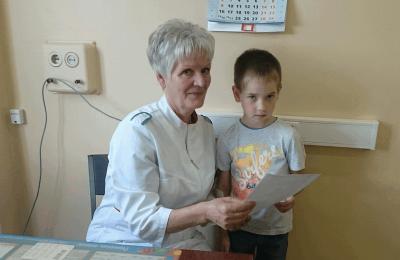 Лучшая медсестра города, которая работает в поликлинике №129
