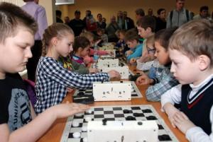 Шахматисты округа