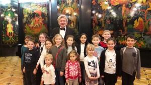 """Ученики 2 """"А"""" класса школы №880 посетили театр Наталии Сац"""