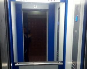 Новый лифт в доме на Чертановской улице