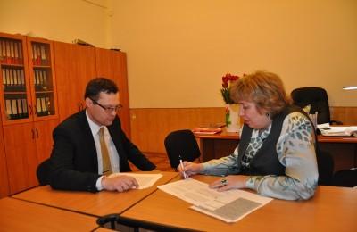 Юрий Савельев и Ольга Мальцева