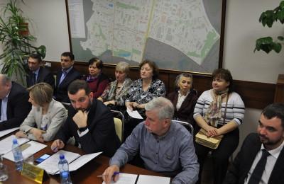 Заседание Совета депутатов в муниципальном округе Чертаново Центральное