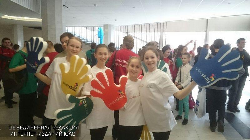 Результаты чемпионата Juniorskills подвели во замке детского творчества