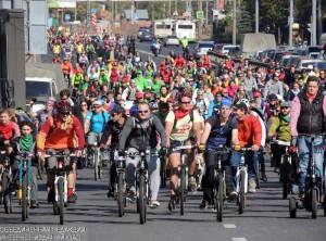 Всероссийский велопарад состоится 28 мая в Москве