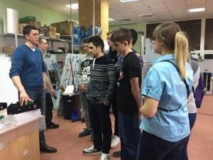 Учащимся школы рассказали о работе 3D-принтера