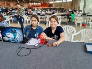 Школьники района получили призовое место на Всероссийском фестивале робототехники
