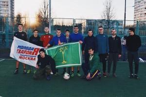 Молодежные объединения района сыграли в товарищеском матче по футболу