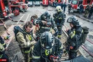Пожарные учения прошли в районе Чертаново Центральное