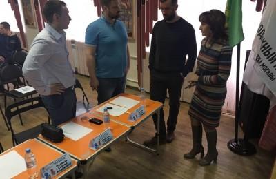 Депутат муниципального округа Чертаново Центральное Сергей Полозов принял участие в работе жюри на дебатах