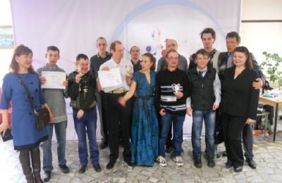 Участники фестиваля из интерната №30