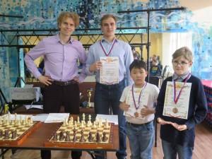 Победители окружных соревнований