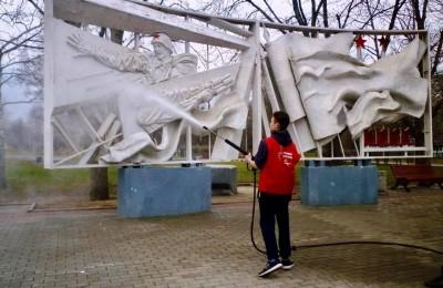 Патронат памятников провели в районе