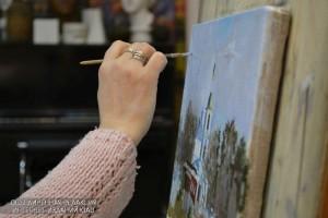 Жители района смогут принять участие в художественном мастер-классе