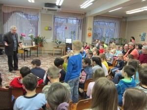 Встреча с писателем Тарловским на Библионочи прошлого года