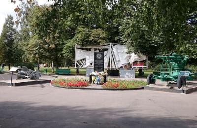 Памятный мемориал в парке 30-летия Победы