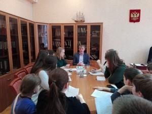 Встреча учеников и директора прошла в школе №880