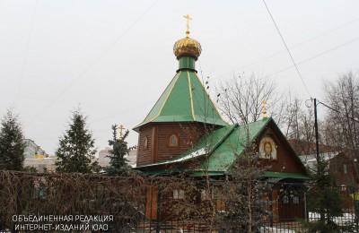 Храм Живоначальной Троицы в Чертанове посетил патриарх Кирилл