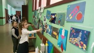 Учащиеся школы №880 отметили День космонавтики