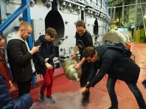 Ребята из школы №880 посетили институте ядерных исследований