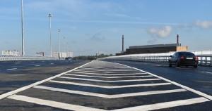 Реконструкция дорог на улицах Подольских курсантов и Красного маяка продолжается