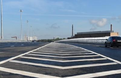 Работы над основной конструкцией новой эстакады в районе подошли к концу
