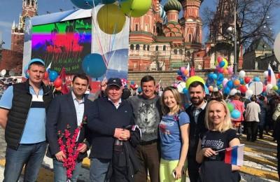 Депутаты муниципального округа Чертаново Центральное вместе с главой управы