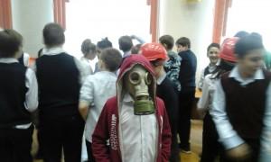 В школе №880 провели тематические занятия к Году гражданской обороны